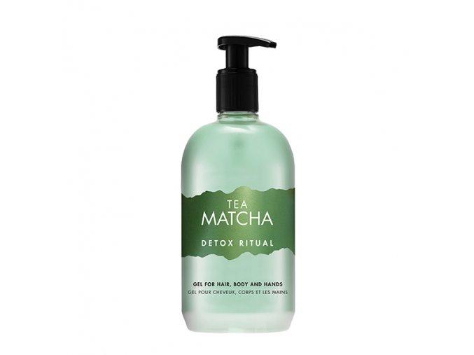 Matcha vlasovy a telovy gel 500 ml s pumpickou