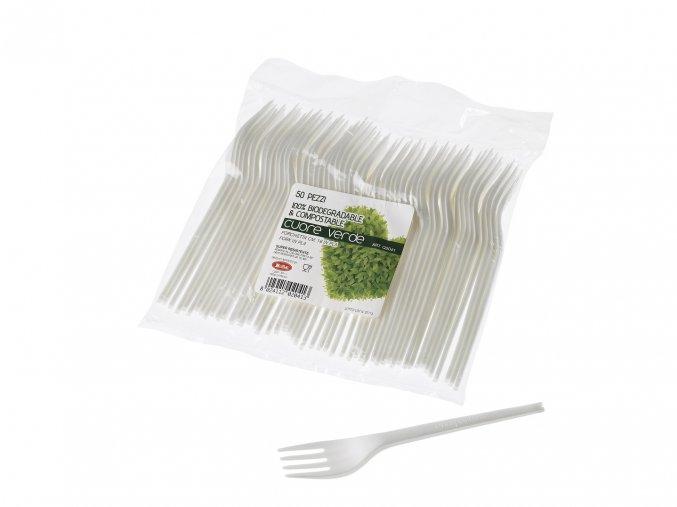 Jednorázová vidlička, ekologická