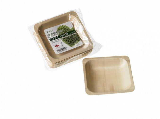 Jednorázový talíř dřevěný, ekologický