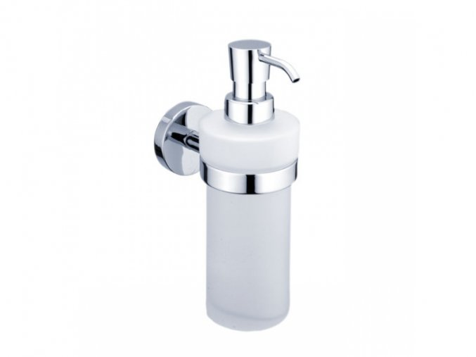 Dávkovač na tekuté mýdlo - matné sklo