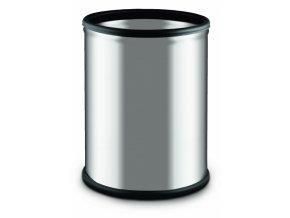 Nerezový koš stříbrný matný 7l 800x600