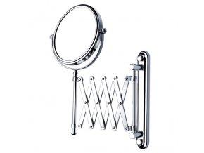 Kosmetické zrcadlo s harmonikou, oboustranné