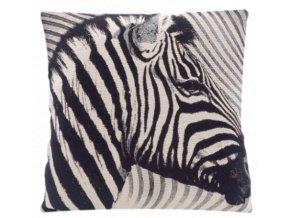 povlak na polštář, vzor zebra 2