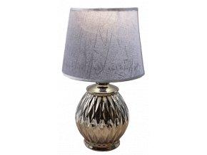 stolní lampa stříbrná 1