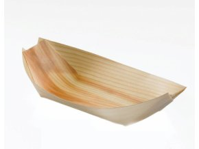 Jednorázová lodička, ekologická, 17x8 cm