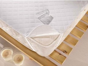 Matracový chránič 90 x 200 cm - voděodolný, uchycení v rozích