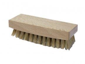 Kartáč na boty dřevěný malý