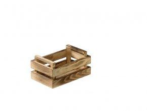 Dřevěná bedýnka