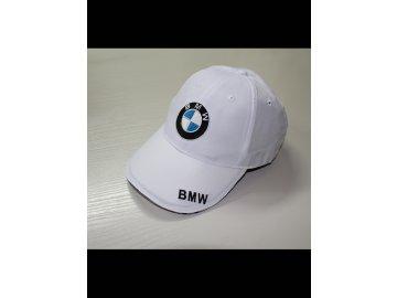 BMW biela šiltovka