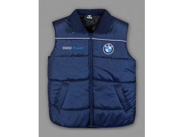 BMW modrá vesta