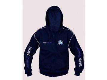 BMW tmavo modrá mikina