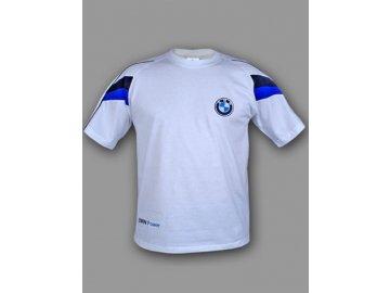 BMW biele tričko