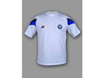 BMW ///M biele tričko