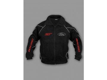 Ford ST čierna flísová bunda