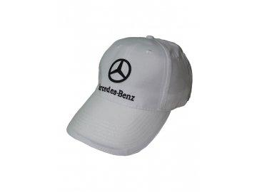 Mercedes Benz biela šiltovka
