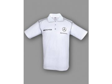 Mercedes AMG Ver.1 biela polokošela