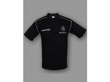 Mercedes AMG čierne tričko