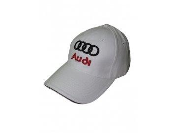 Audi biela šiltovka