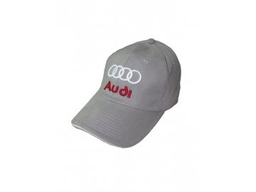 Audi sivá šiltovka