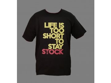 Life is too short Tshirt front Final
