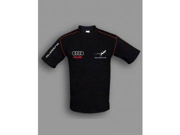 Audi Quattro čierne tričko