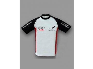 Audi Quattro biele tričko