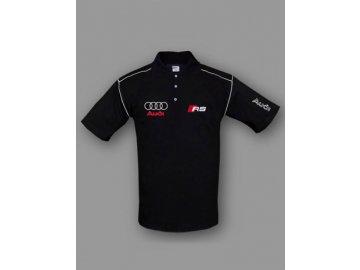 Audi RS čierna polokošela