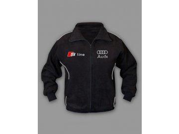 Audi S line flísová bunda