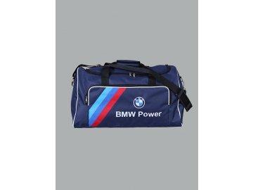 BMW modrá cestovná taška