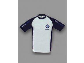 BMW bielo-modré tričko