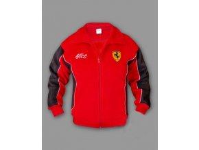 Ferrari červená flísová bunda