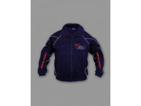 Ford ST tmavo modrá flísová bunda