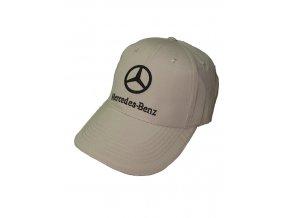 Mercedes Benz béžová šiltovka