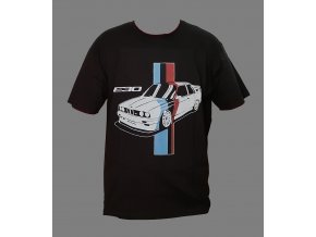 BMW M3 E30 Tshirt 2 black front Final