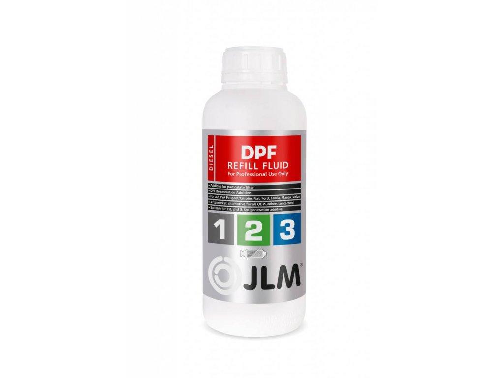 Náplň pre DPF filter - JLM DPF Refill Fluid 1L