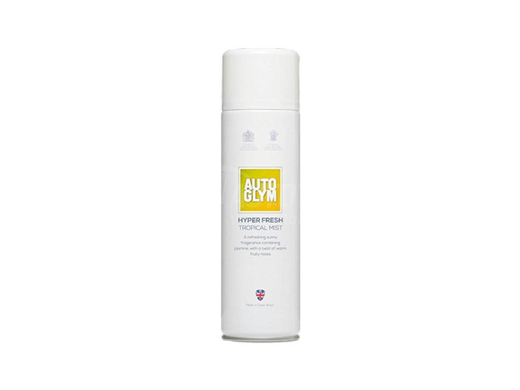 osviezovac vzduchu interieru autoglym hyper fresh tropical mist 450ml