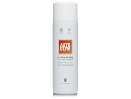 osviezovac vzduchu interieru autoglym hyper fresh golden sunset 450ml
