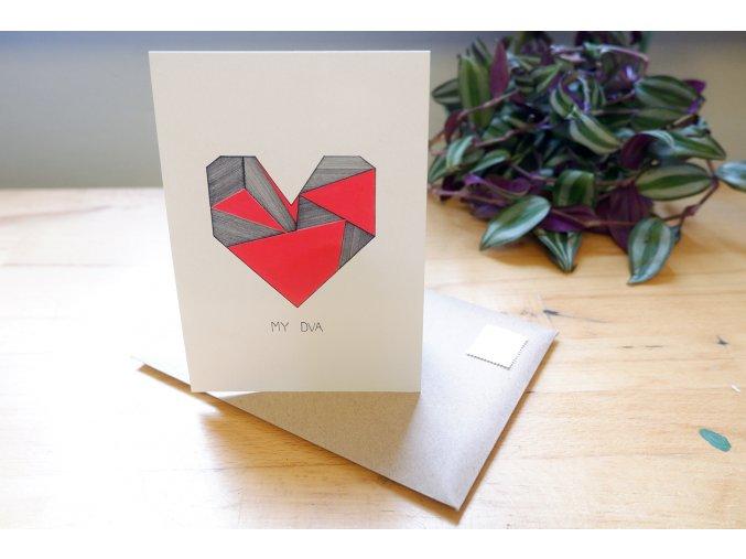 Obrázek, pohlednice - My dva