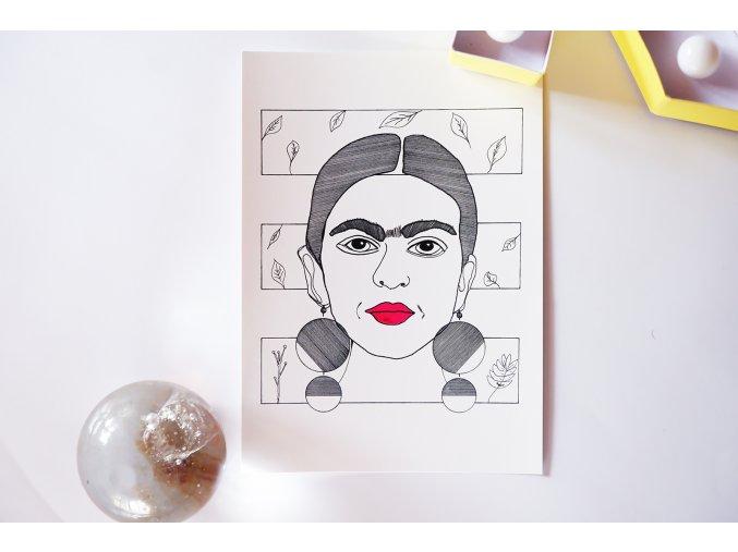 Pohlednice Frida