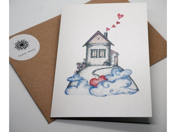 Vánoční blahopřání - Láska hřeje