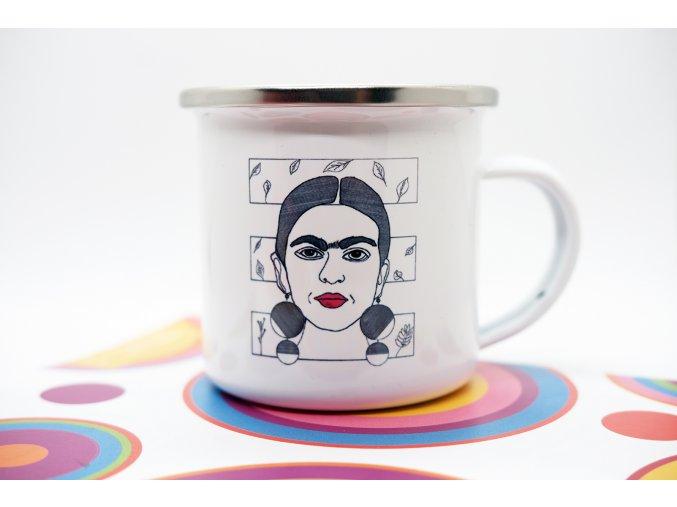 Malý plecháček na espresso Frida