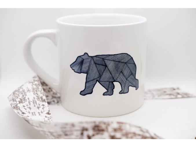 Keramický hrnek Medvěd