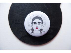 Placka s potiskem - Frida