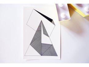 Pohlednice Geometrie