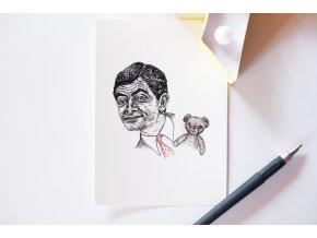 Pohlednice Mr. Bean