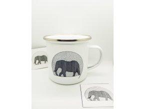 Plecháček se slonem