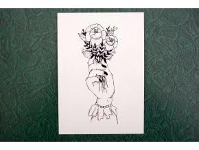 Kytice - pohlednice