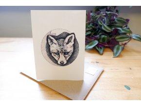 Obrázek, pohlednice - Liška