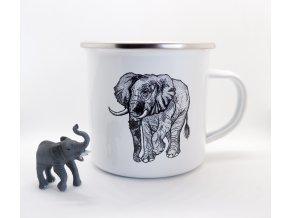 Plecháček - Slon