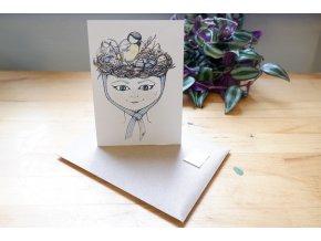 Obrázek, pohlednice - Jaro